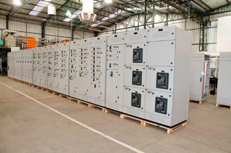 Quadros elétricos de baixa tensão